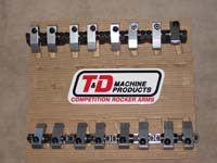 T&D Machining Competition roller rockers (1.70 ratio)
